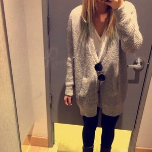 Free People Knitted Oversized Cardigan